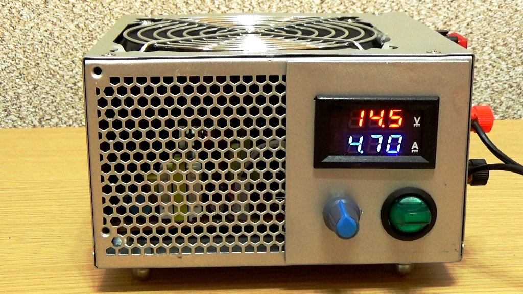 Зарядное устройство для автомобильного аккумулятора из компьютерного блока питания