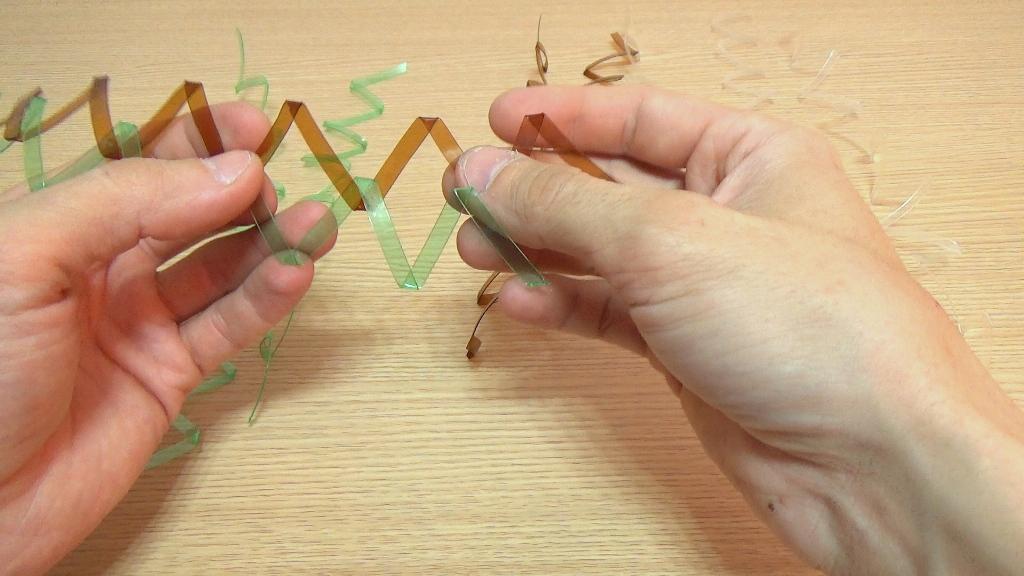 Плетение сетки рабицы