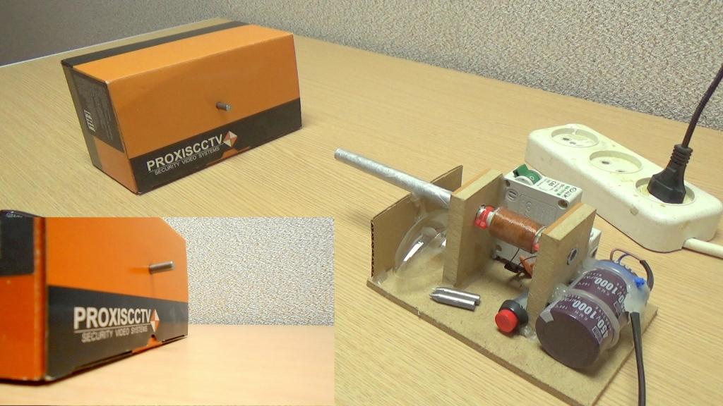 Коробка из рифленого картона