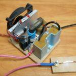 Генератор высокого напряжения из строчника на транзисторе