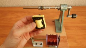 Как разобрать импульсный трансформатор
