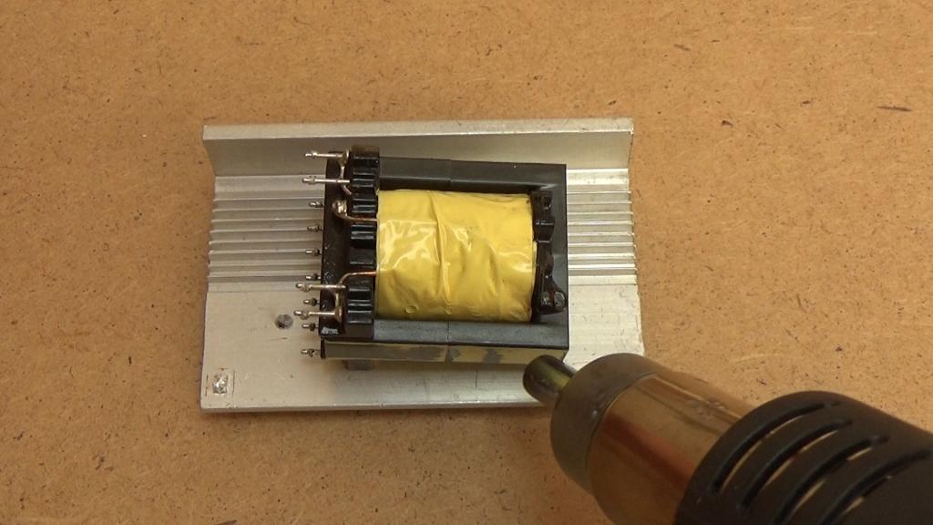 Нагреваем ферритовый магнитопровод