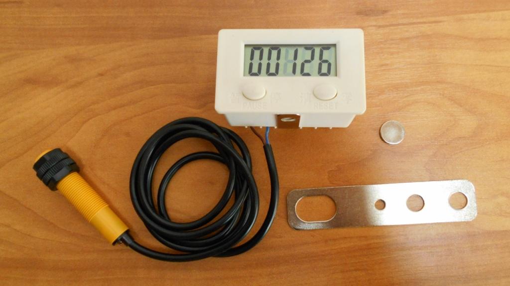 Электронный счетчик для подсчета оборотов вала намоточного станка
