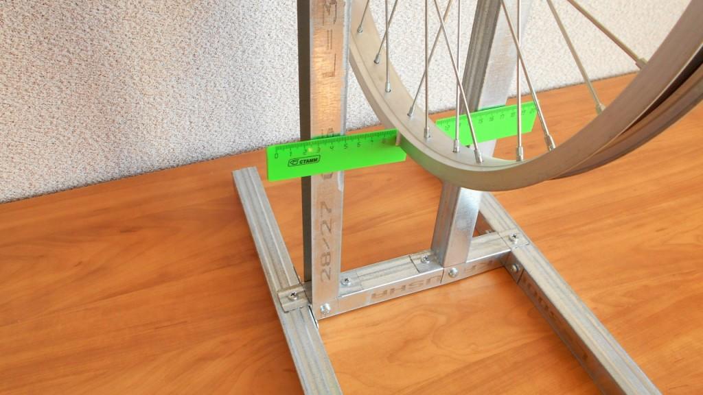 Станок для правки и центровки велосипедных колес своими руками в домашних условиях