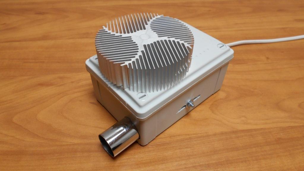 Генератор озона, озонатор воздуха своими руками