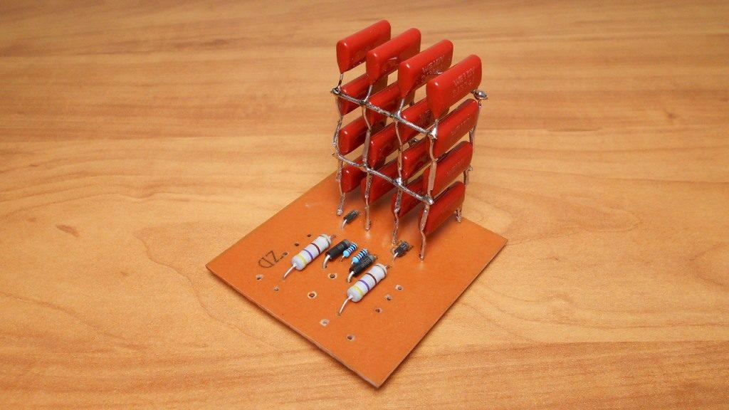 Блок металлопленочных конденсаторов 0.33 мкФ 630 В
