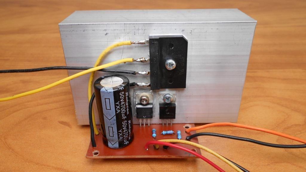 Стабилизатор напряжения на микросхеме LM317 своими руками