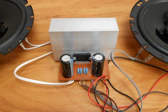Усилитель звука на микросхеме TDA7850 своими руками