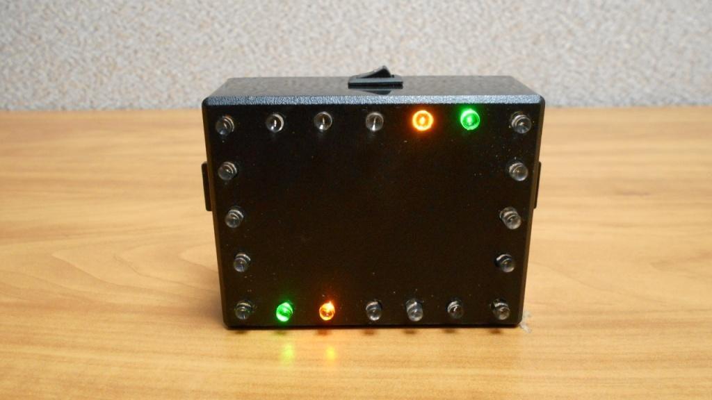 Схема бегущих огней на светодиодах 12 вольт
