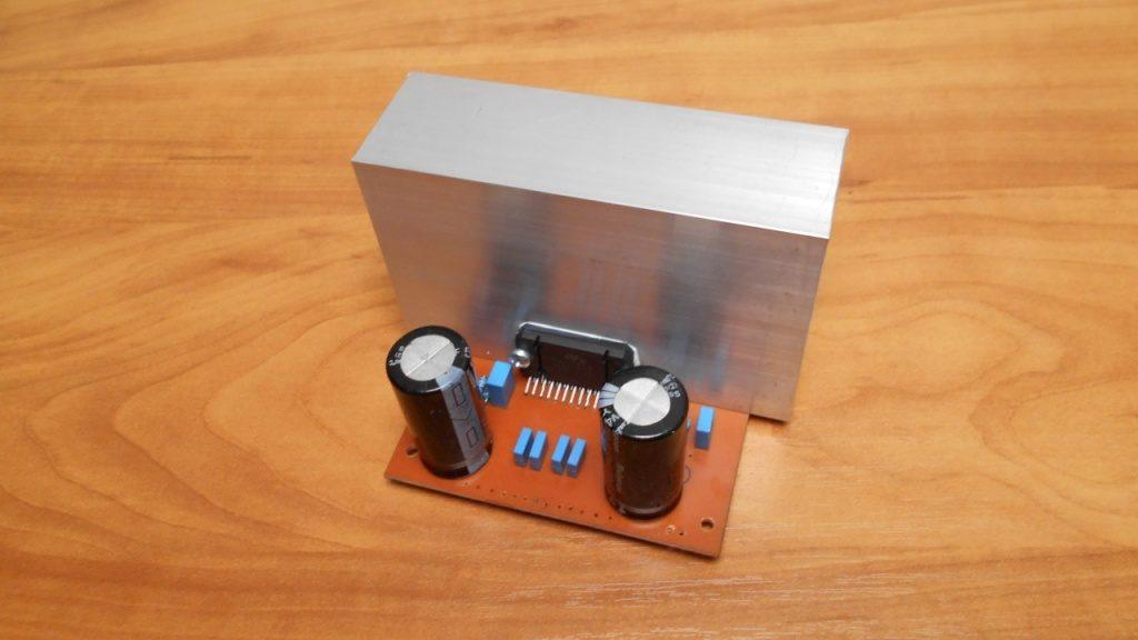Усилитель звука НЧ на микросхеме TDA7850 своими руками