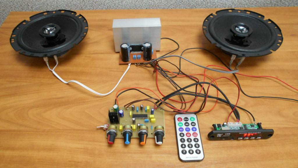 Темброблок для усилителя низкой частоты своими руками