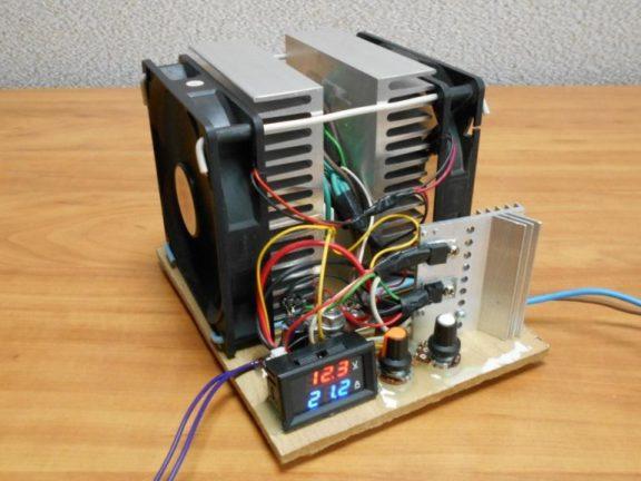 Электронная нагрузка для блока питания