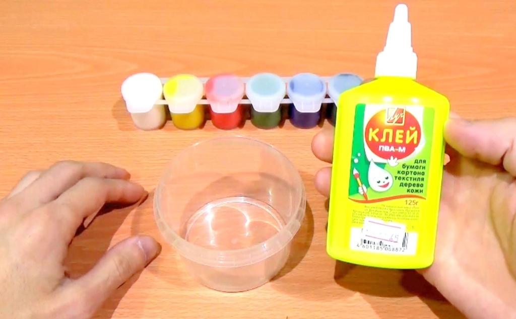 Как сделать лизуна без клея пва с содой и водой