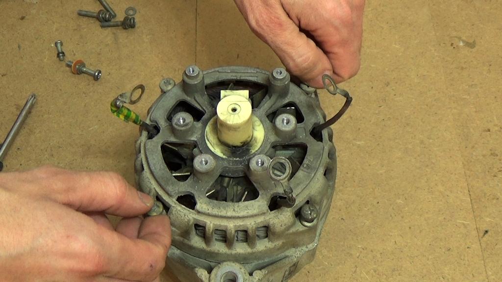 Ремонт бытового генератора своими руками 91