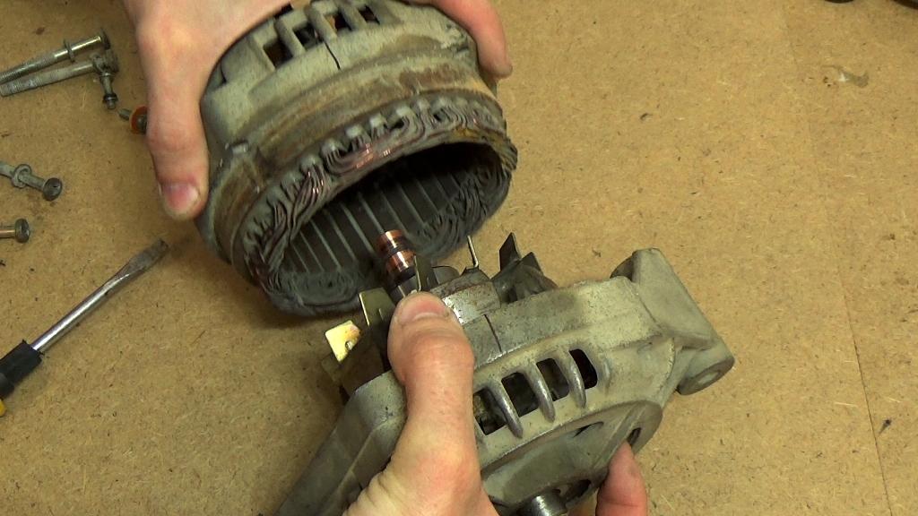 Ремонт бытового генератора своими руками 17