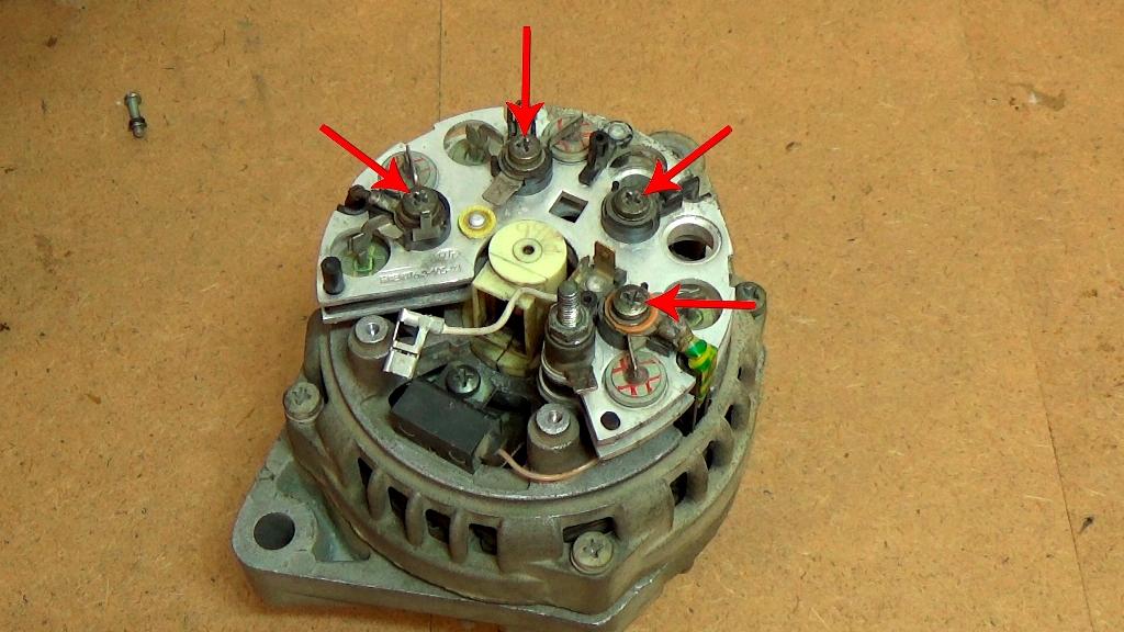Ремонт бытового генератора своими руками 33